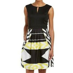 Ellen Tracy Fit & Flare Dress Size 16